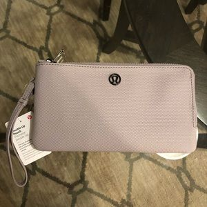 Lululemon Double Up Pouch in Dark Chrome, NWT